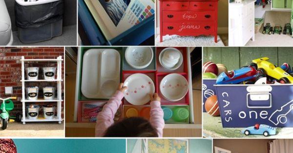 KIDS - Organizational Tips! - Merriment Style Blog