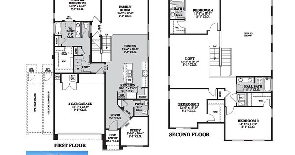 DR Horton Rose Floor Plan Via Www.nmhometeam.com