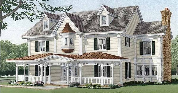Eplans Country House Plan Four Bedroom Country 3839