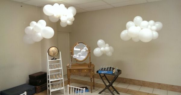 Balloon Clouds Balloons Com Au Christening Balloon