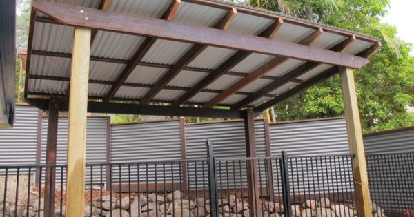 Best Pergola With Corrugated Metal Roof Frame Colorbond 400 x 300