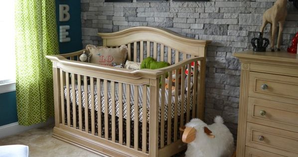 "Little Man Cave. What a gorgeous little boy's room. Can be ""babied"""