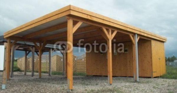 Carport with storage carport garden room pinterest for Carport with storage room