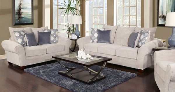 This 5 piece living room package consists of a sofa for 5 piece living room packages