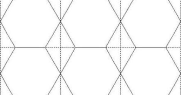 2 inch hexagon printable template 12 hexies per a4 for Hexagon quilt template plastic