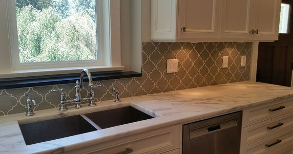 kitchen with mosaic backsplash taupe arabesque glass mosaic tiles tile stores glass 6533