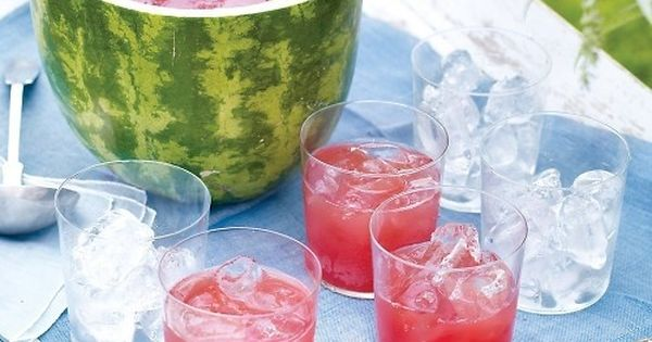 Check out Watermelon Punch and Bowl. It's so easy to make! | Picnics ...