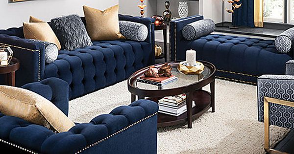 Diana Transitional Living Room Collection Design Tips Ideas Raymour And Flanigan Furniture Living Room Sets Living Room Sets Furniture Fancy Living Rooms