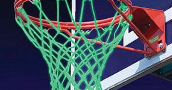A Glow In The Dark Net That Makes It Easy To Play Basketball When Little Or  No Light Is Available. | @: Yard U0026 Pool   Games And Toys | Pinterest ...