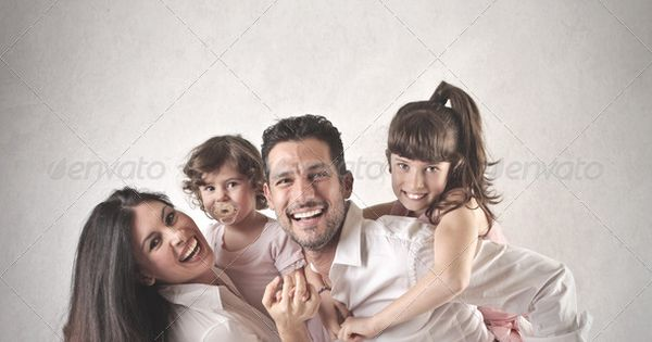 Family – portrait of a happy family