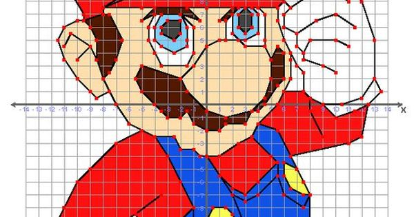 Mario These Graphing Puzzles Contain Over 100 Ordered