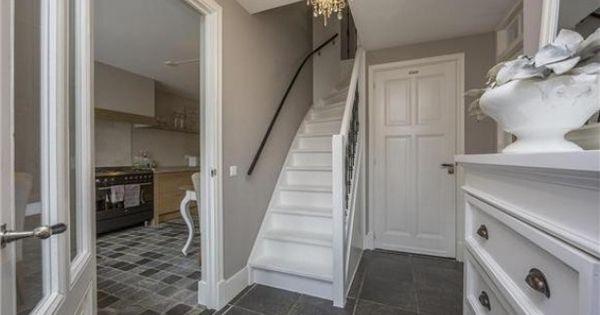 Mooie hal met toegang tot woon keuken interieur ideeen pinterest keuken inspirerend en - Kleur schilderij ingang ...