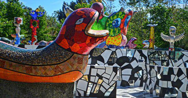 Queen Califia S Magical Circle Sculpture Garden Escondido California Featuring Nine Concrete