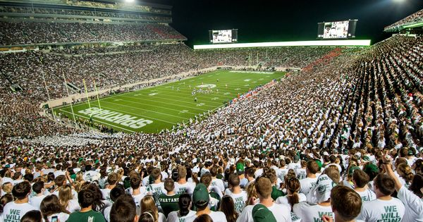 Espn College Gameday Coming To Msu For Battle With Buckeyes Michigan State Football Michigan State Spartans Football Msu Spartans Football