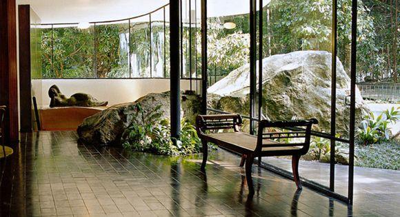 Dream House Interior Casa das Canoas, 1952 Oscar Niemeyer