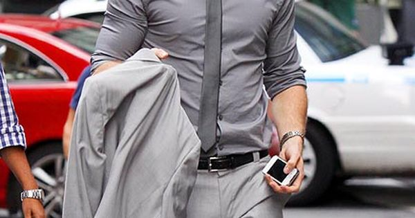 Grey suits are so slick men fashion grey