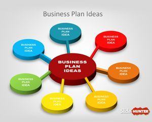 Free 3d Business Plan Diagram Idea For Powerpoint Is A