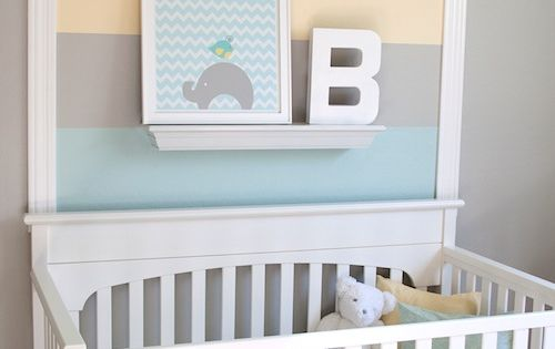 This can be used for more than just nurseries...Some Great ideas! 1st