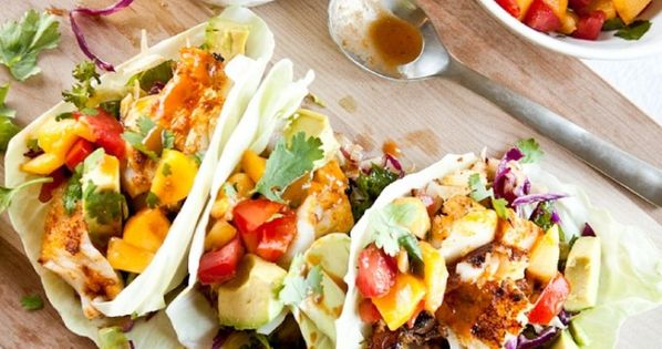 Fish Tacos   Recipe   Blackened Fish Tacos, Peach Salsa and Fish Tacos