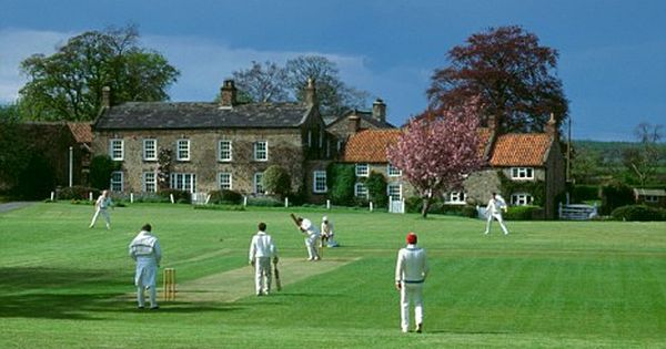 Cricket On The Village Green Cricket Games English Countryside Image
