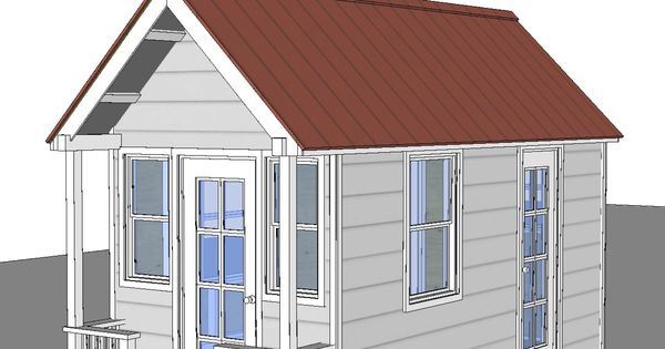 Calpella cabin 8x16 v1 cover love this floor plan for Home design 8x16
