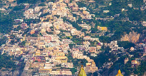 Chiesa San Gennaro with Positano beyond, Amalfi Coast Italy ~ Brian Jannsen