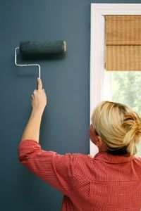 Should You Remove Wallpaper Or Just Paint Over It Painting Over Wallpaper Remodeled Campers Camper Makeover