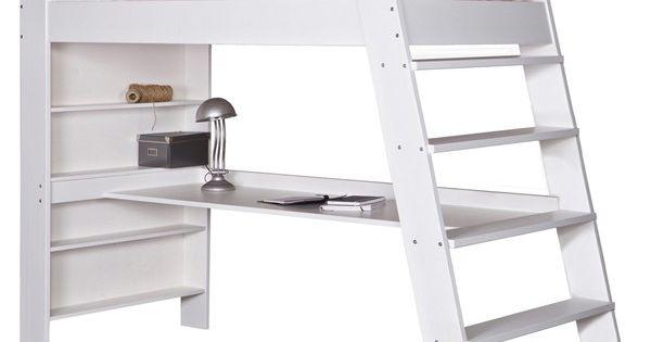 hochbett julien schreibtisch kinderbett leiter. Black Bedroom Furniture Sets. Home Design Ideas