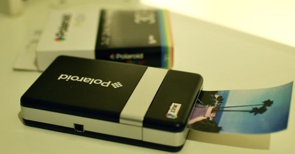 the PoGo bluetooth polaroid printer for mobile phones