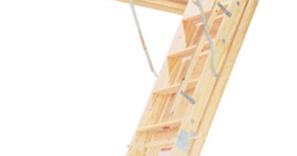 10 Heavy Duty Wood 25 Quot Attic Ladder At Menards Attic