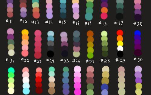 Character Design Color Palette : Character design color palette google search fight