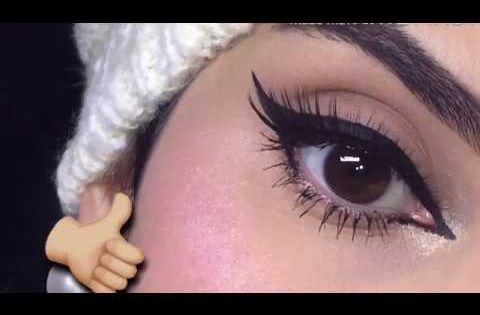 مكياج بسيط للع ين مع تعليم رسم الأيلاينر خطوة بخطوة Youtube Makeup Skin Care Skin
