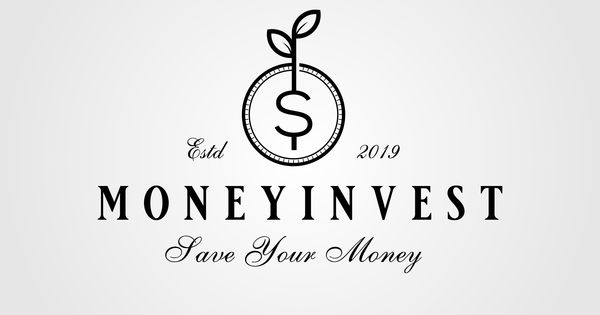 Vintage Coin Dolar Symbol Leaf Sprout Money Growth Investment Logo Vector Designs By Linimasa Money Logo Graphic Design Logo Logo Design