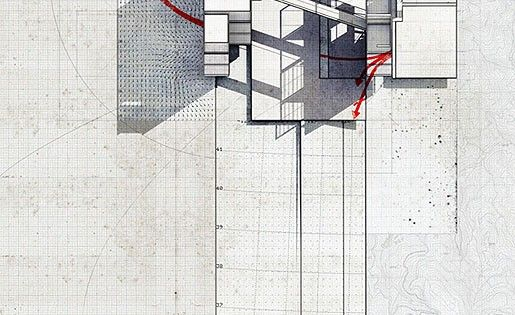 larameeee: mixed media collage by artist/architect Lekan...