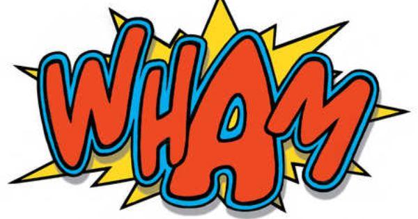 Comic Strip Fight Sound Wham Pop Art Comics Batman Quotes