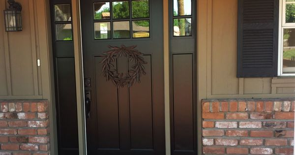 White Fiberglass Entry Doors With Sidelights Popular
