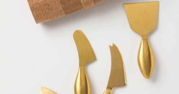 Quite the hostess gift! Imperial Cheese Knives anthropologie