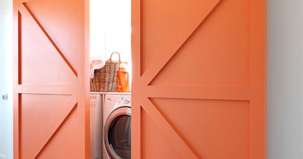 Sneaky Ways To Hide Your Washer And Dryer Punch White