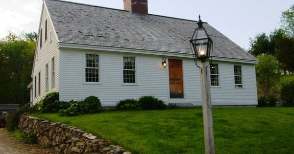 Reproduction Cape Cod Style Home Cape Cod Style House