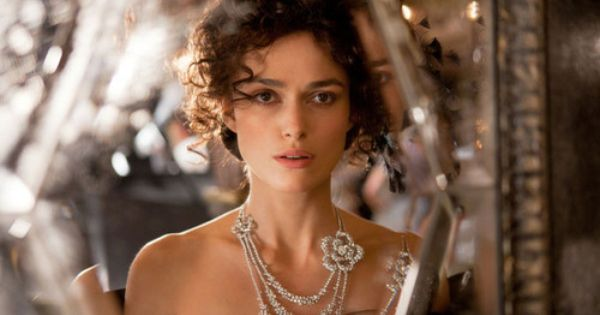 "Keira Knightley in a scene from Joe Wright's ""Anna Karenina."" Her costumes"
