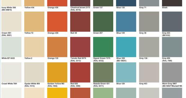 Jotun Marine Colour Card Jpg 1048 718 Boya Renkleri Renkler Duvar