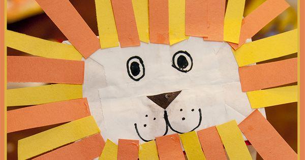 Childrens Craft Plate Lion