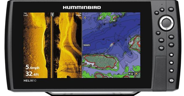 humminbird helix 10 si/gps combo, Fish Finder