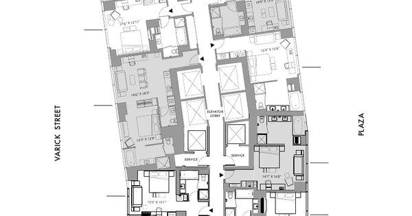 Manhattan hotel rooms trump soho new york full level for 10 madison square west floor plans