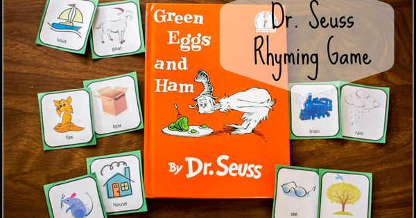 Classroom Decoration Games Free ~ Dr seuss rhyming and matching game for quot green eggs