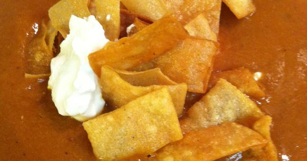 Tomato tortilla soup | Food baby food | Pinterest | Tortilla Soup ...