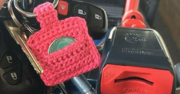 Crochet Quarter Keeper : Aldi Quarter Keeper: Free Crochet Pattern M?nstre, Hekling og ...