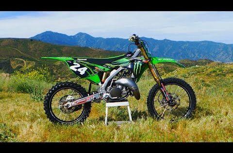 2019 Kawasaki Kx 125 Project Pro Circuit 2 Stroke Dirt Bike
