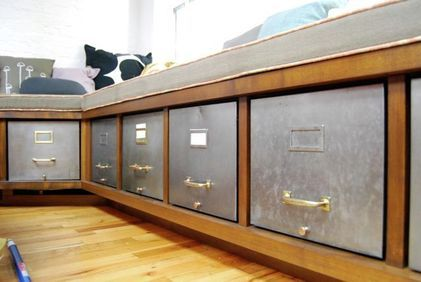 Make This Filing Cabinet Bench For Upstairs Built In Bench Office Remodel Bench With Storage