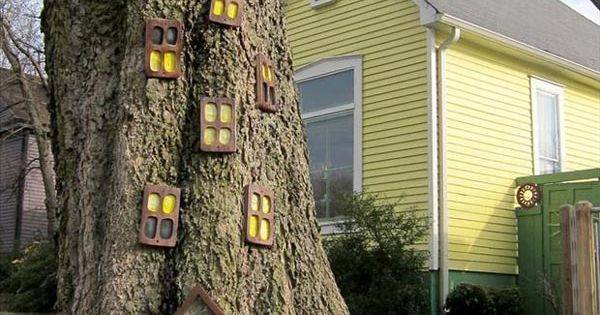 Fairy Tree house - for our front yard @jeremiahhix ;-)